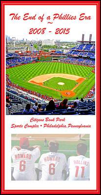 Philadelphia Phillies The End Of An Era Art Print by A Gurmankin