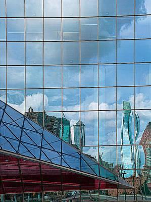 Cira Centre Photograph - Philadelphia Reflections by Rick Mosher