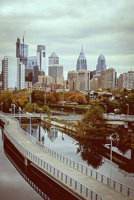 Photograph - Philadelphia Skyline In Autumn by Patrice Zinck