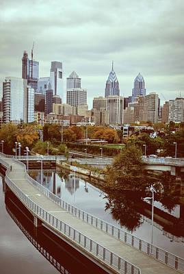 Photograph - Philadelphia Skyline In Autumn by Patrice Zinck