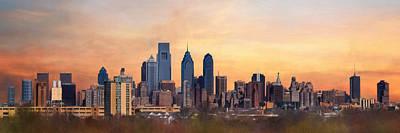 Philadelphia Skyline Photograph - Philadelphia Skyline by Lori Deiter