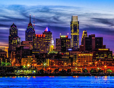 Photograph - Philadelphia Skyline by Nick Zelinsky