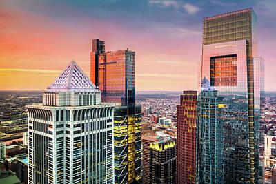 Photograph - Philadelphia Skyscrapers by Mihai Andritoiu
