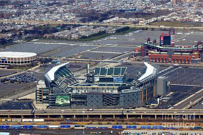 Citizens Bank Park Photograph - Philadelphia Sports Complex by Anthony Totah