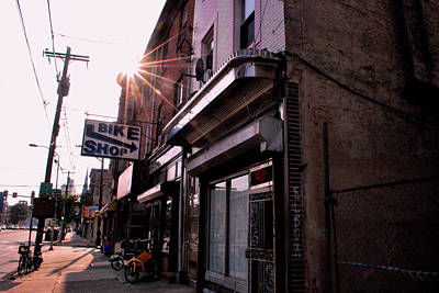 Photograph - Philadelphia Street Level Sun Beams by Matt Harang