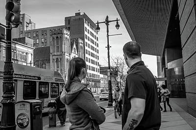 Photograph - Philadelphia Street Photography - Dsc00248 by David Sutton