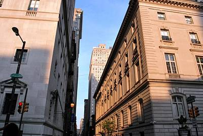 Photograph - Philadelphia Street View - Sansom And 15th  by Matt Harang