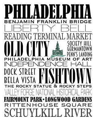 Phillies Digital Art - Philadelphia Subway Art by Marian Schumer