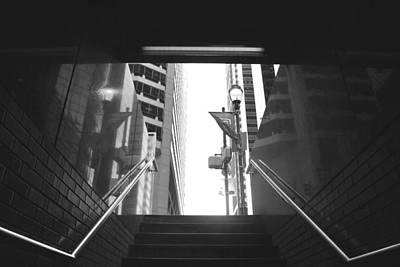 Photograph - Philadelphia Subway Stairway To Heaven by Matt Harang
