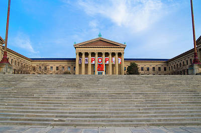 Philadelphia - The Rocky Steps Art Print