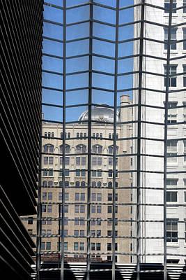 Photograph - Philadelphia Through A Window by Emanuel Tanjala