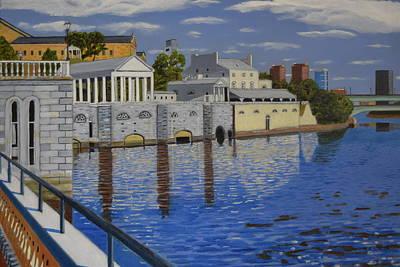 Philadelphia Water Works Art Print