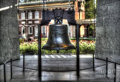 Philadelphia's Liberty Bell Art Print