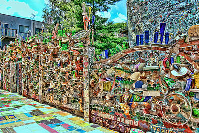 Photograph - Philadelphia's Magic Gardens 3 by Allen Beatty
