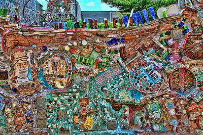 Photograph - Philadelphia's Magic Gardens by Allen Beatty