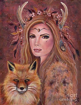 Philana Fae With Red Fox Original