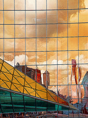 Photograph - Phildalphia Reflections 2 by Rick Mosher
