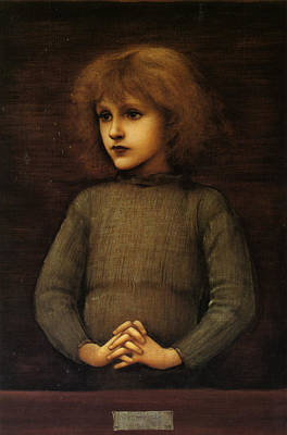 Painting - Philip Comyns Carr by Edward Burne-Jones