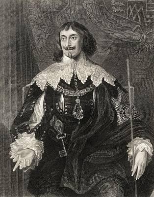 Philip Herbert 4th. Earl Of Pembroke Art Print
