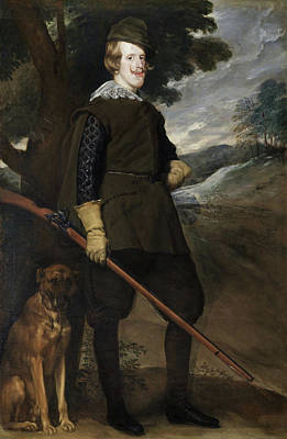 Diego Velazquez Painting - Philip Iv In Hunting Dress by Diego Velazquez