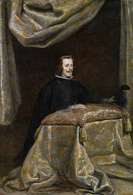 Praying Painting - Philip Iv In Prayer by Diego Velazquez