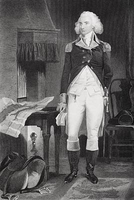 American Revolution Drawing - Philip Schuyler 1733-1804. American by Vintage Design Pics