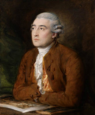 18th Century Painting - Philippe Jacques De Loutherbourg by Thomas Gainsborough