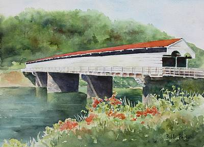Painting - Philippi Bridge by Bobbi Price