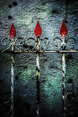 Photograph - Philippine Gate Detail by Michael Arend