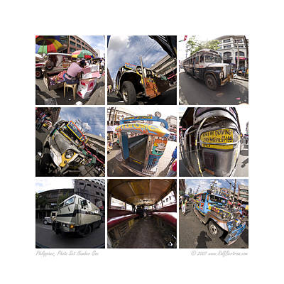 Philippines Photo Set Number One Art Print by Rolf Bertram