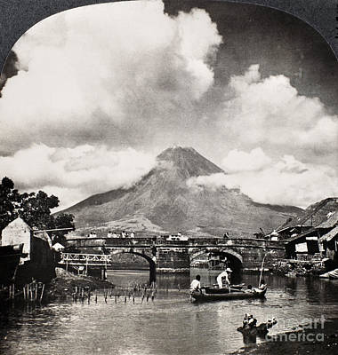 Painting - Philippines: Volcano by Granger
