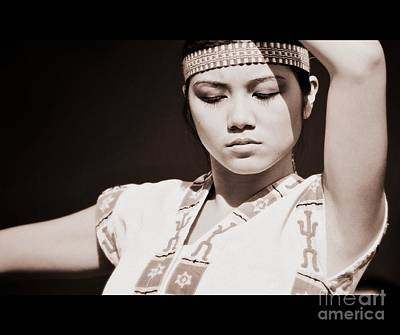 Philippino Dancer Art Print
