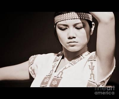 Philippino Dancer Art Print by Chris Dutton
