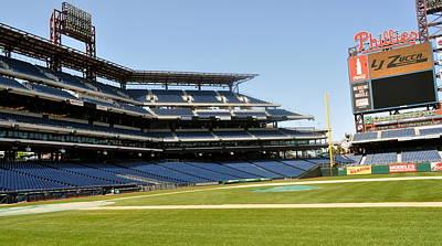 Photograph - Phillies Stadium by Brynn Ditsche
