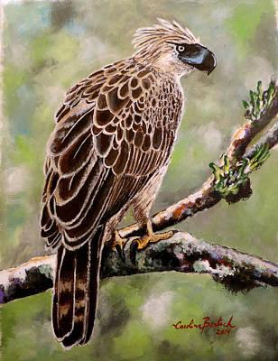 Phillipines Painting - Phillipines Eagle by Carolina Bertsch