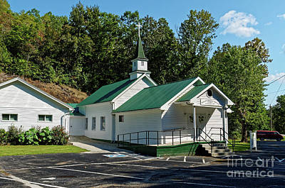 Photograph - Phillippi Primitive Baptist Church by Paul Mashburn
