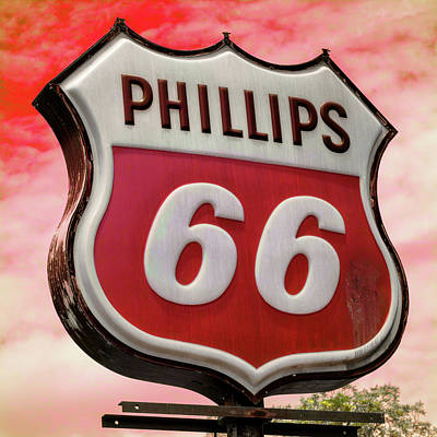 Carter Photograph - Phillips 66 - 3 by Stephen Stookey