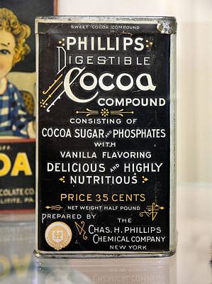 Photograph - Phillips Digestible Cocoa by Richard Reeve