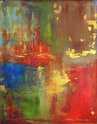 Painting - Philly Abstract by Lilliana Didovic