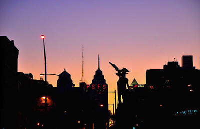 Photograph - Philly At Night by Andrew Dinh