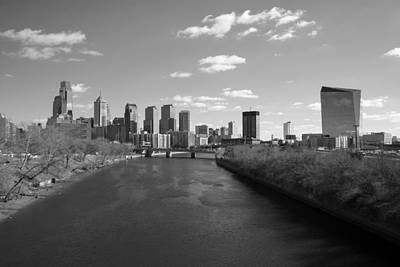 Photograph - Philly B/w by Jennifer Ancker