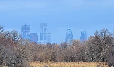 Photograph - Philly From Afar by Kathy Eickenberg