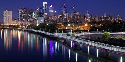 Photograph - Philly Lengthy Pano by Frozen in Time Fine Art Photography
