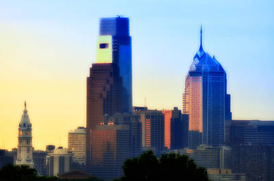 City Hall Digital Art - Philly Morning by Bill Cannon