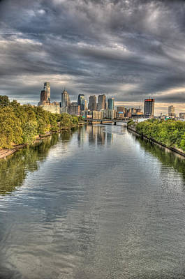Philadelphia Photograph - Philly River by Matthew Bamberg