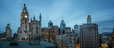 Photograph - Philly Skyline by Ryan Wyckoff