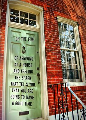 Philly Welcome Quote Art Print by JAMART Photography
