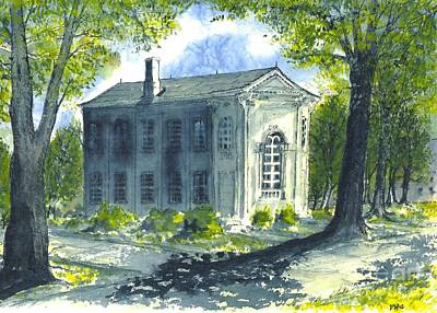 Philo Hall Erskine Art Print