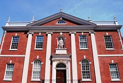 Photograph - Philosophical Hall Philadelphia by Matt Harang