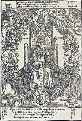 Drawing - Philosophy by Albrecht Durer